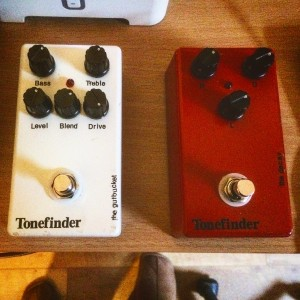The Gutbucket (bass overdrive) & The Decay (bass delay) from Tonefinder
