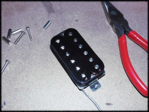 Uncovered Humbucker pickups - Wound to your spec