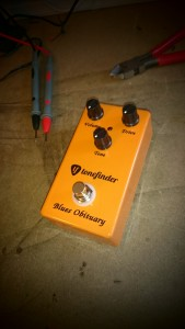 The Tonefinder 'Blues Obituary' pedal