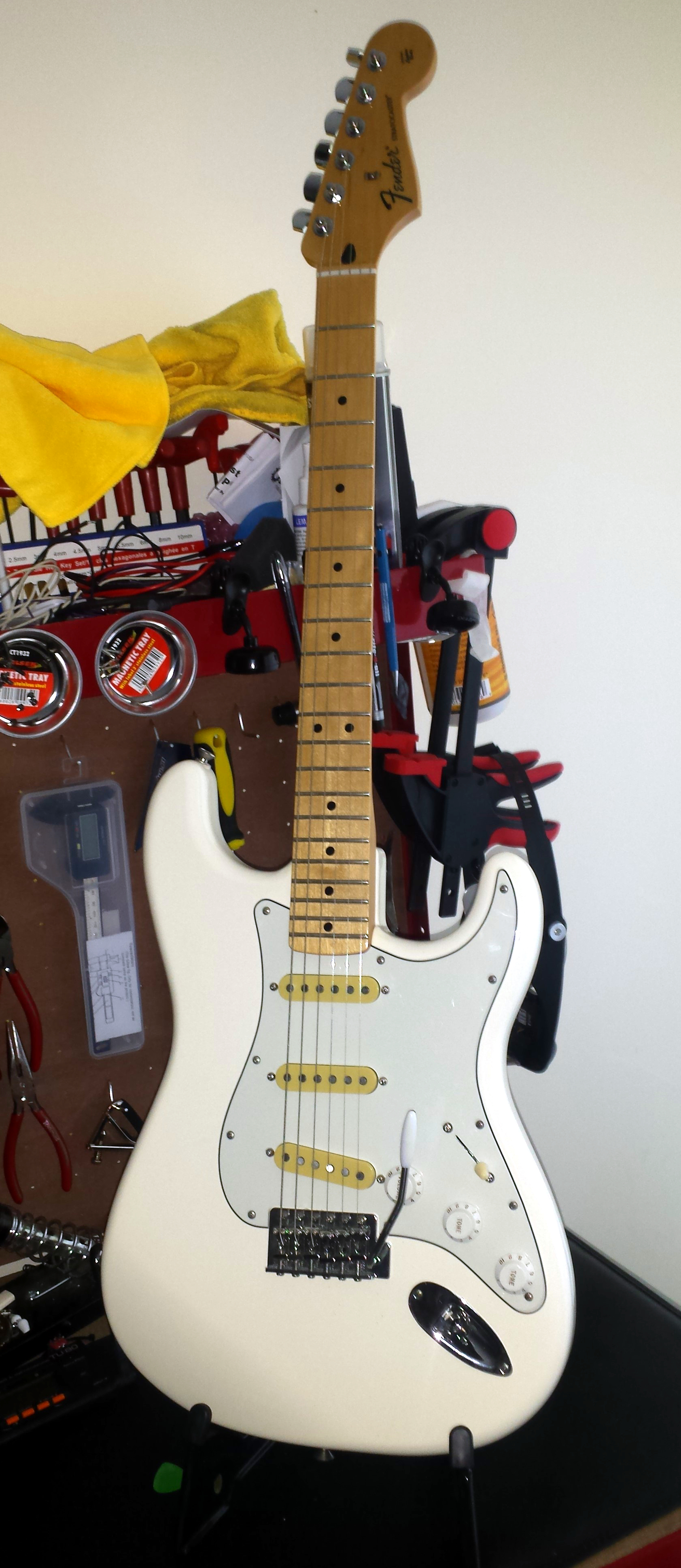 David Gilmour Stratocaster Project - Helping you find your tone