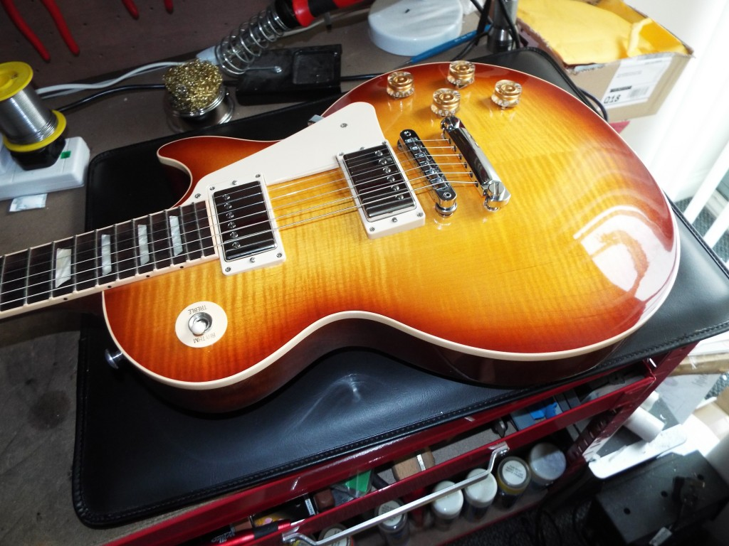 My Gibson Les Paul 2014 Traditional