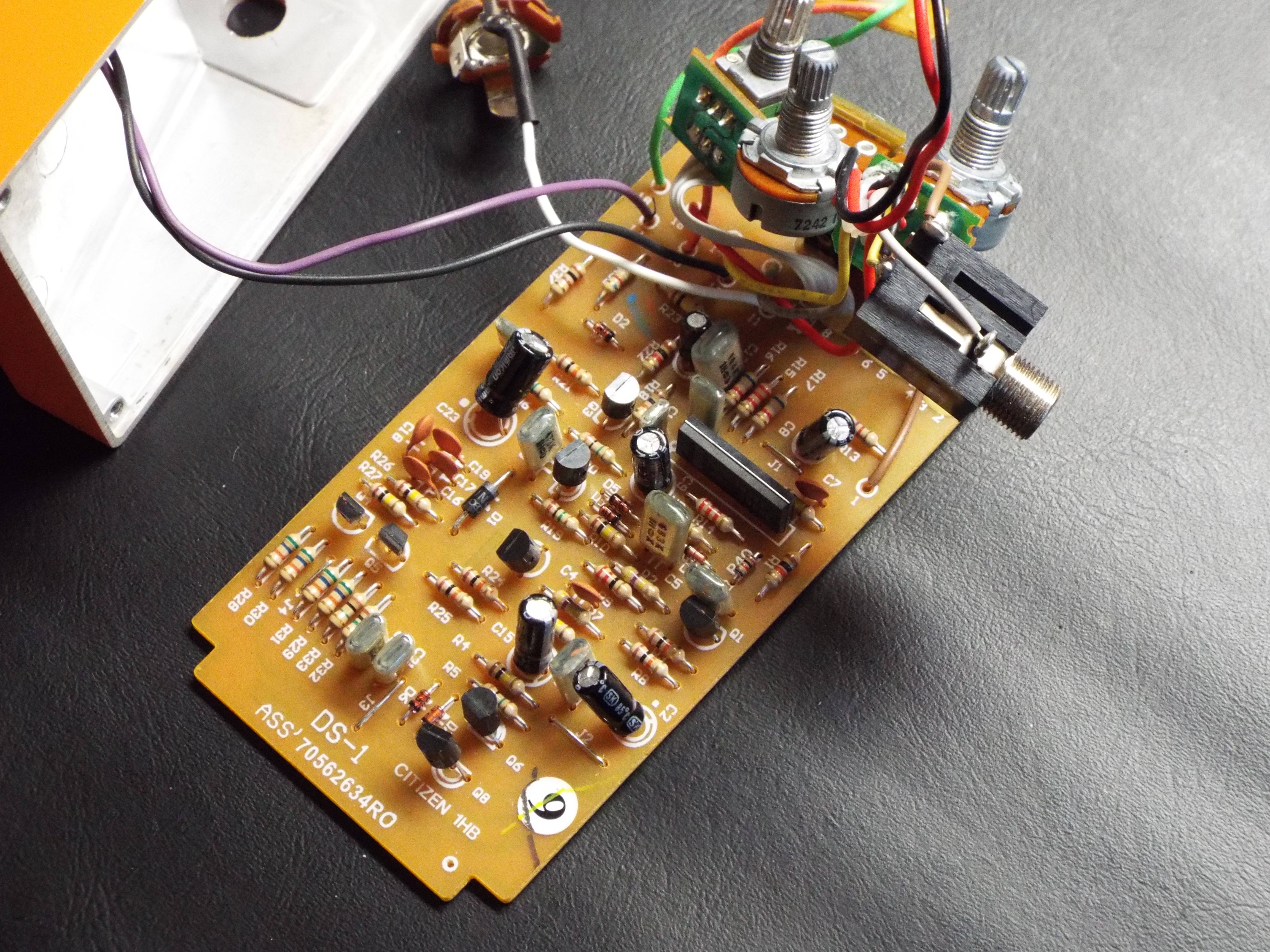 Fixing And Then Modding A Boss Ds 1 Helping You Find Your Tone 4 Jack Wiring To Circuit Board One Final Look At The